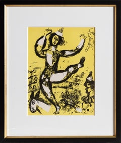 The Circus, Framed Lithograph by Marc Chagall 1960