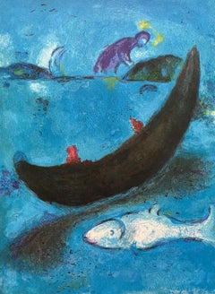 The Dead Dolphin and the Three Hundred Drachmas, Daphnis & Chloe, Marc Chagall