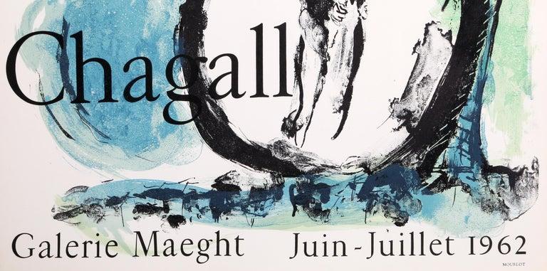 The Green Bird - Modern Print by Marc Chagall
