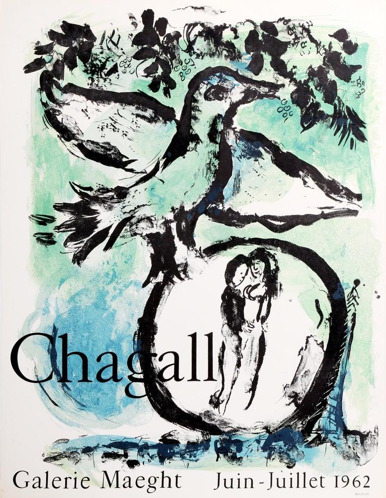 Marc Chagall Animal Print - The Green Bird