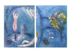 """The Nymph's Cave,"" Daphnis et Chloé (Cramer 46), Diptych"