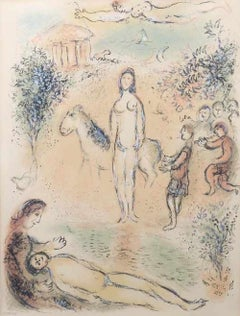 The Odyssey - Original Lithograph by Marc Chagall - 1975
