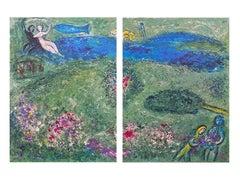 """The Orchard,"" Daphnis et Chloé (Cramer 46), Diptych"