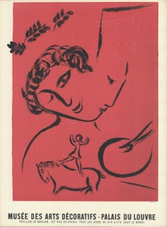 Exhibition Poster, The Painter In Rose, 1959