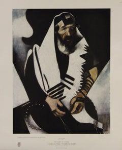 The Rabbi of Vitebsk-1948 New York Graphic Society Print