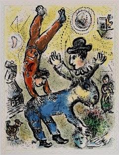 The Red Acrobat  L'acrobat rouge - Russian Israeli Art Circus