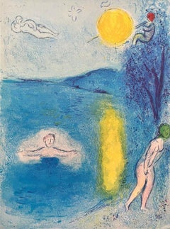 The Summer Season, Daphnis & Chloe 1977 Limited Edition, Marc Chagall