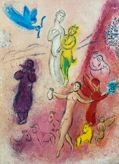 The Syrinx Fable, Daphnis & Chloe 1977 Limited Edition, Marc Chagall