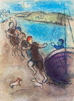 The Young Methymneans, Daphnis & Chloe 1977 Limited Edition, Marc Chagall