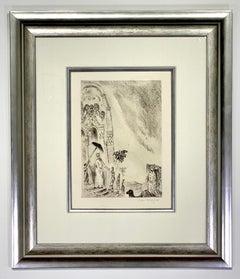 "Marc Chagall  ""La reine de Seba Sorlier 278"""