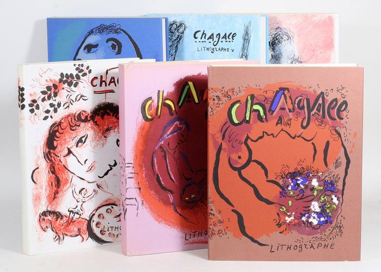 Marc Chagall - Die Komplette Reihe von Lithographien, Gute Erhalten 4