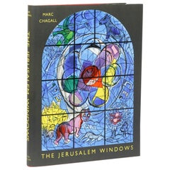 Marc Chagall, the Jerusalem Windows, Signed First Edition, Very Fine Condition