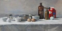"""""""Crème Brûlée"""" - Contemporary Realism - Still Life - Manet"""