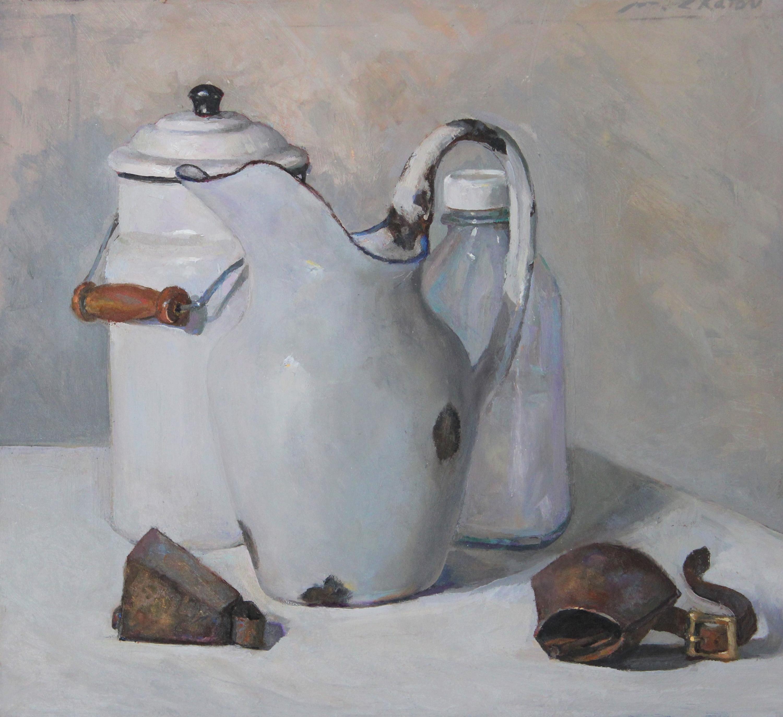 """Goat Bells"" - Contemporary Realism - Still Life - Manet"