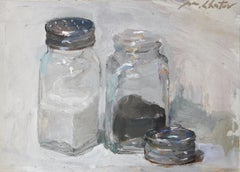 """Salt and Pepper"" - Contemporary Realism - Still Life - Manet"