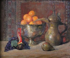 """Still Life with Oranges"" - Contemporary Realism - Still Life - Manet"