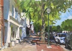 East Hampton Street Scene