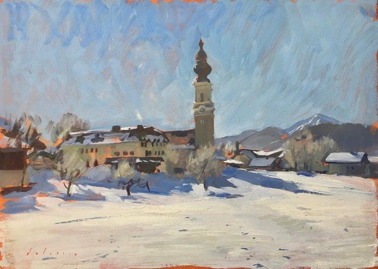 Marc Dalessio Landscape Painting - Faistenau