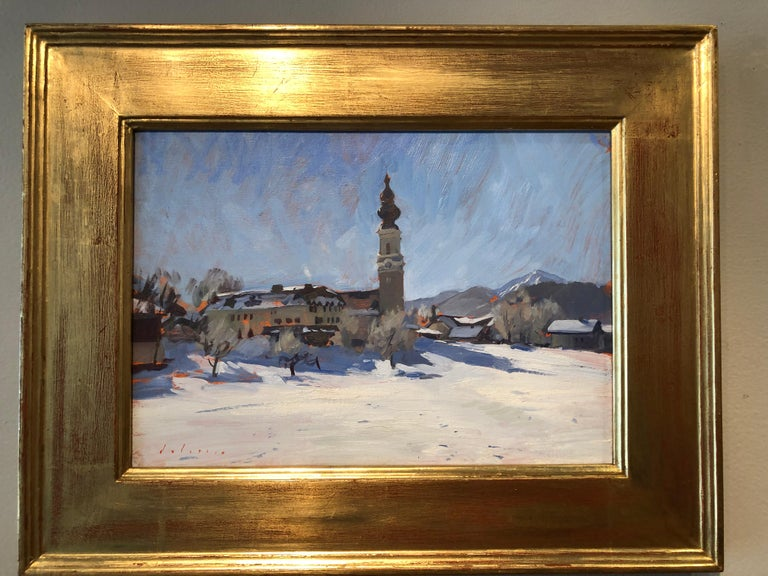 Faistenau - Painting by Marc Dalessio