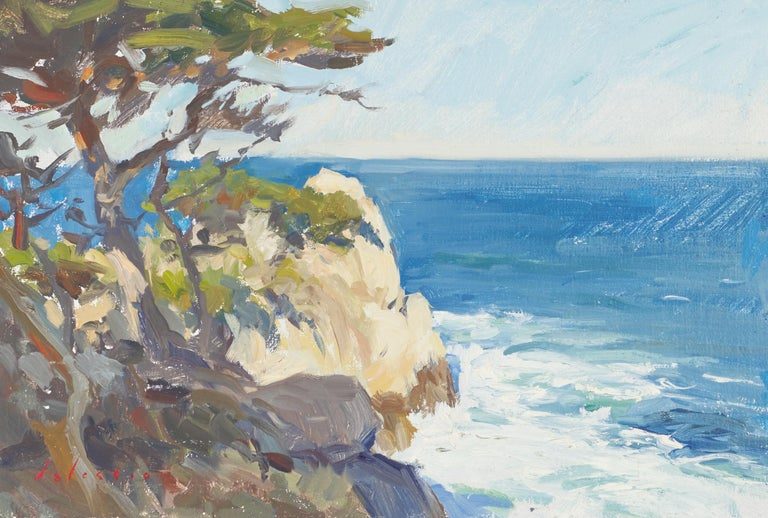 Marc Dalessio Abstract Painting - North Point