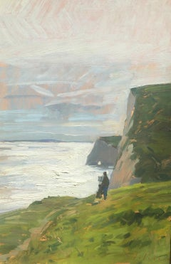 Painter on the Jurassic Coast