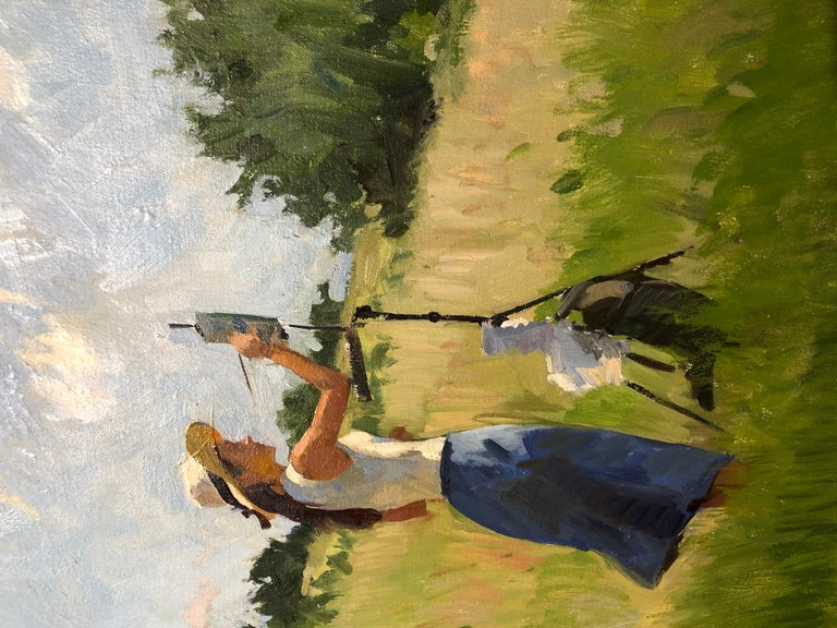 Tina Painting, Hillside For Sale 1