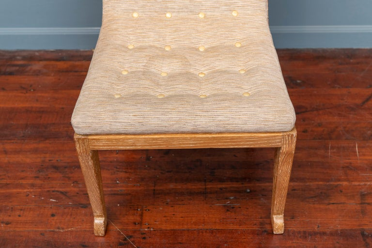 French Marc du Plantier Style Slipper Chair