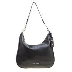 Marc Jacobs Black Leather Ghotham Hobo