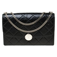 Marc Jacobs Black Quilted Shoulder Bag