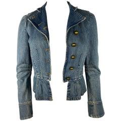 Marc Jacobs Denim Jacket, Size 4