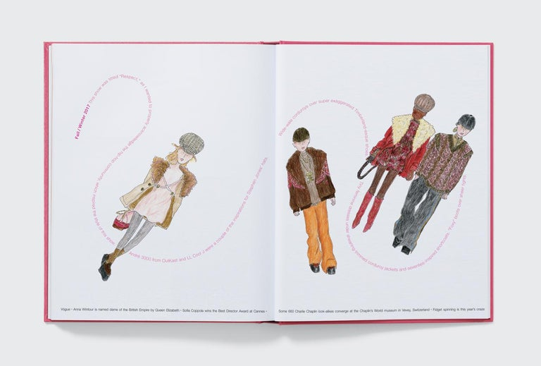 Contemporary Marc Jacobs Illustrated by Grace Coddington For Sale