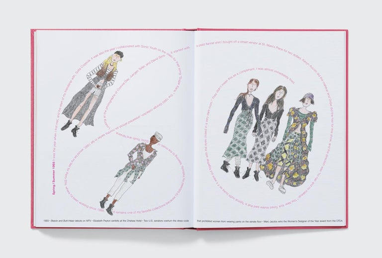 Marc Jacobs Illustrated by Grace Coddington For Sale 1