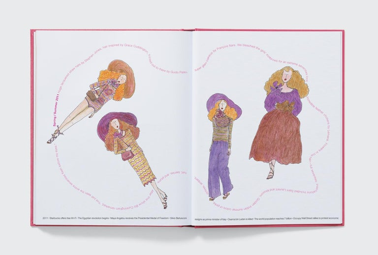 Marc Jacobs Illustrated by Grace Coddington For Sale 2