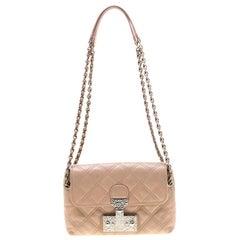 Marc Jacobs Nude Leather Baroque Shoulder Bag