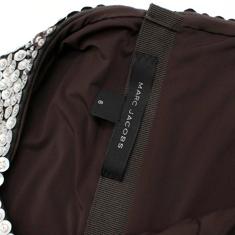 Marc Jacobs Sequin Studded Shift Dress US 6 For Sale 2
