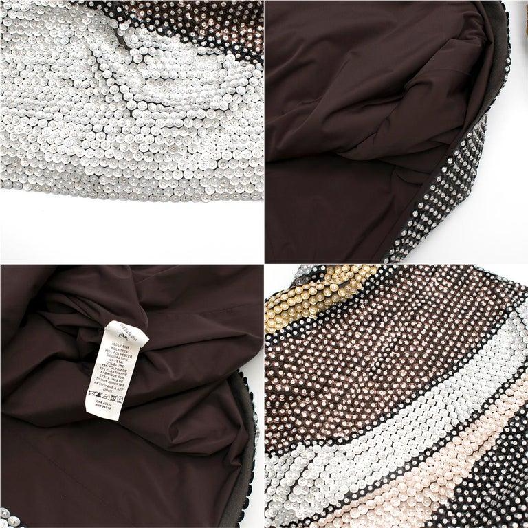 Marc Jacobs Sequin Studded Shift Dress US 6 For Sale 5
