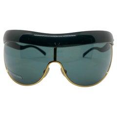 Marc Jacobs Vintage Oversized Mask Sunglasses NWOT