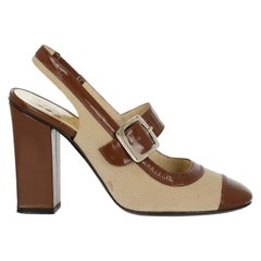 Marc Jacobs Woman Pumps Beige, Brown EU 37