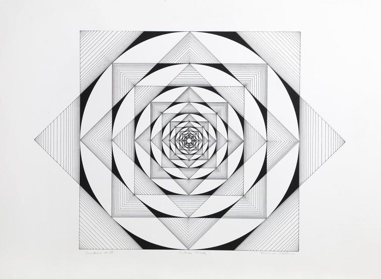 Marc Koller Abstract Print - Variations on III
