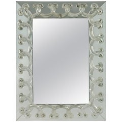"""Marc Lalique Miroir """"Rinceaux"""""""