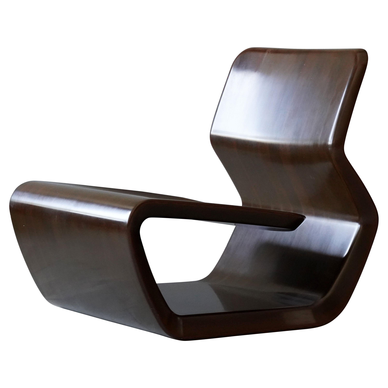 "Marc Newson, ""Micarta"" Lounge Chair, Linen Phenolic Composite, Studio, 2006"