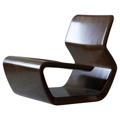 "Marc Newson, ""Micarta"" Lounge Chair, Linen Phenolic Composite, Studio, 2006"