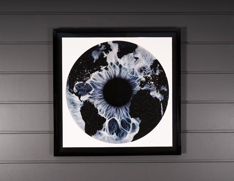 Marc Quinn, Blue Iris with Diamond Dust, 2019 - Contemporary Print by Marc Quinn