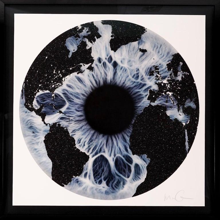 Marc Quinn, Blue Iris with Diamond Dust, 2019 - Print by Marc Quinn