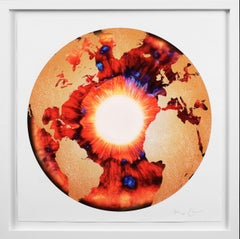 Marc Quinn, 'Iris' with Diamond Dust, Red/Gold, 2020
