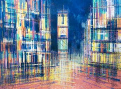 Marc Todd, New York - Times Square At Midnight, Cityscape Art, Contemporary Art