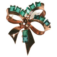 Marcel Boucher Retro Bow Knot Brooch