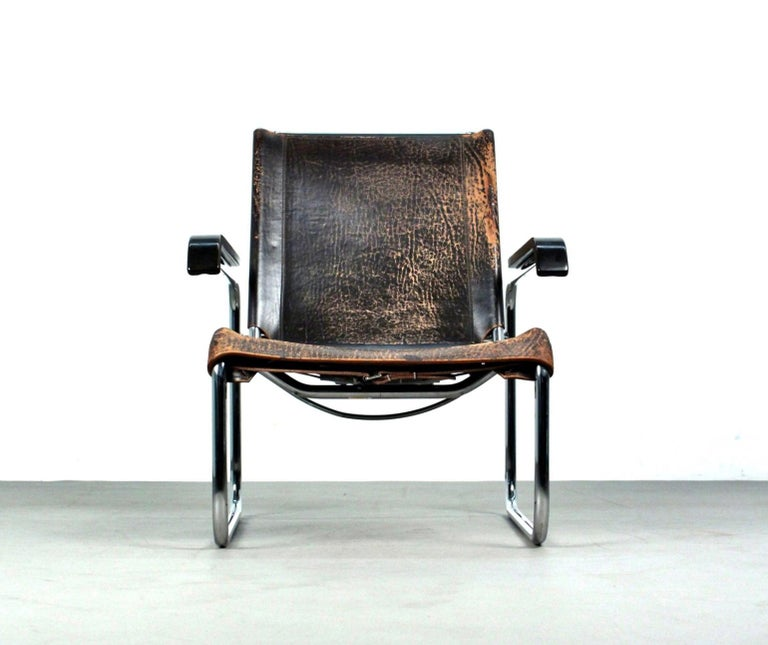 German Marcel Breuer B35 Lounge Chair for Thonet, 1930s For Sale
