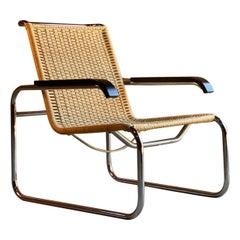 Marcel Breuer B35 Lounge Chair Armchair Bauhaus, circa 1980s