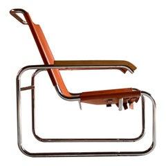 Marcel Breuer B35 Lounge Chair Armchair Thonet, circa 1930s